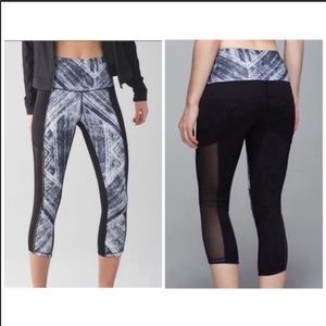 Lululemon Hot To Street Crop leggings size 4